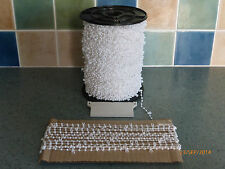 10 METRES PROFESSIONAL  5' X 127mm VERTICAL BLIND CHAIN FOR REPAIRS