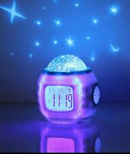 STAR SKY BABY CHILD MUSICAL NIGHTLIGHT SOUND MELODY MUSIC COT CRIB BED TOY CLOCK