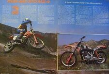 CAN-AM 370 MX-4 Original Motorcycle Test Article 1978