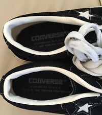 MADE IN USA VINTAGE CONVERSE ONE STAR BLACK LABEL 8.5 US MEN