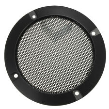 4''inch Matt Type Black Circle Speaker Decorative Circle with protective Grille