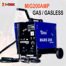 New MARS 200Amp MIG/MAG Welder Welding Machine GAS & GASLESS