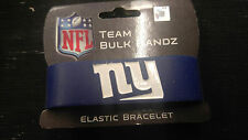 New York Giants Logo Bulk Bandz Elastic Wrist Band Bracelet