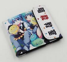 Anime Assassination Classroom Short Leather Wallet Purse Cosplay Gift #27