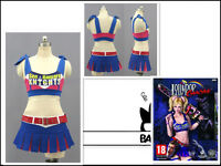 Lollipop Chainsaw Cheerleader Juliet Starling Cosplay Costume