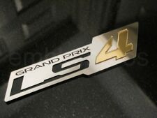 GM LS4 'ZR1' STYLE STAINLESS & ACR. EMBLEM GRAND PRIX