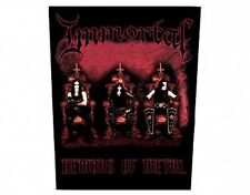 IMMORTAL demons of metal GIANT BACK PATCH - no longer made