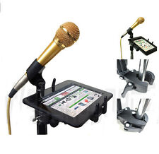 "ChargerCity 5""-7"" Tablet Music Mic Microphone Stand Mount for Apple iPad Mini II"