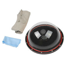 Underwater Dome Port  Waterproof Cover Drving Camera Lens Housing for GoPro 4 3+