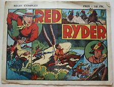 Red Ryder  Fred HARMAN 1945