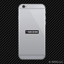 Texas Secede Cell Phone Sticker Mobile secession TX
