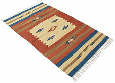 2313-1-kilim lavabile in lavatricE Autentic Indians 240x170 cm GalleriaFarah1970
