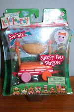Mini Lalaloopsy Dolls Silly Pet Parade Sleepy Pets WagonTrain Car NIB