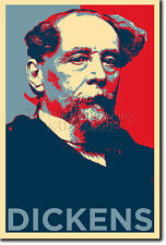CHARLES DICKENS ART PHOTO PRINT (OBAMA HOPE) POSTER GIFT GREAT EXPECTATIONS