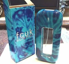French Connection FCUK SUMMER HIM edt COLOGNE Spray 3.4 oz MEN NEW DAMAGED BOX