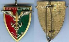 Allemagne - Forces françaises en Alemagne