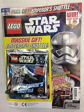 LEGO STAR WARS COMIC - No 17 - Nov/Dec 2016 - WITH FREE EMPEROR'S SHUTTLE KIT