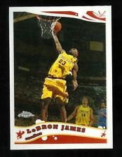 2005-06 TOPPS CHROME LEBRON JAMES NBA CARD #102 CLEVELAND CAVALIERS 3RD YEAR!!