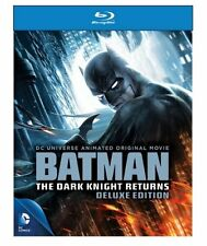 DCU : BATMAN - THE DARK KNIGHT RETURNS Deluxe   -  Blu Ray - Sealed Region free