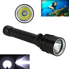 Diving 5000LM Scuba CREE XML T6 LED Flashlight Torch Light 18650 Lamp Waterproof