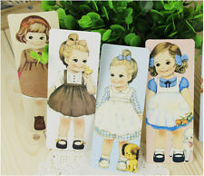 5pcs Lovely Dolls Girls Bookmark Good For Gift Present Souvenirs Prize