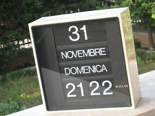 Orologio Fratelli Solari Pesariis Udine mod. Solar FUNZIONANTE BIANCO ANNI 70