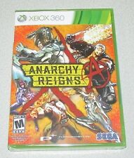 Anarchy Reigns for Xbox 360 Brand New! Factory Sealed!