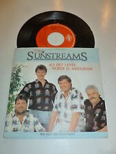 "THE SUNSTREAMS - Als Het Lente Wordt In Amsterdam - 1987 Dutch 7"" Juke Box"