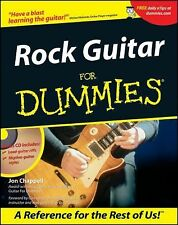Rock Guitar for Dummies by Jon Chappell (2001, Paperback)