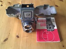 Rolleiflex DBP DBGM Baby Rollei GRAY TLR Camera, very rare and collectible