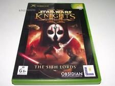 Star Wars Knights of the Old Republic II Xbox Original PAL Preloved *Complete*
