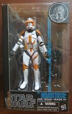 "STAR WARS CLONE COMMANDER CODY  6"" BLACK SERIES"