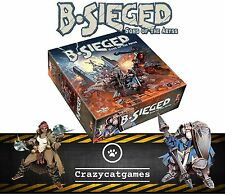 B-Sieged: Sons of The Abyss - New (Board Games, CMON)