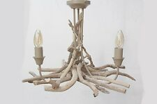Driftwood Chandelier,Three light/Arm Pendant, Drift Wood 3 Light Pendant fitting