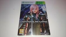 Final Fantasy XIII (13) : Steelbook Vide/Empty G1 : [Collector - Xbox360 - NEW]