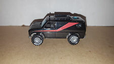 Hot Wheels Vintage 1980`s A-Team Van w/ Real Rider Tires & Grey hubs