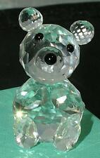 Swarovski Crystal Figurine Small BEAR 7637 054 000 Variation 3 Retired