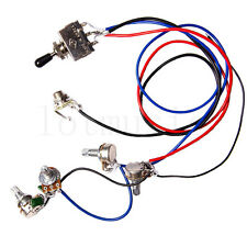 Electric Guitar Wiring Harness Kit 2V2T 3 Way Switch for Gibson Les Paul LP Part