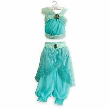 Princess Jasmine Dress Gown Costume Disney Store Size 5/6!!