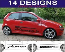 fiat punto side decals abarth stickers 2 off choice of design