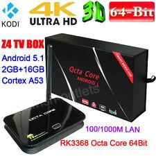 New Z4 Android 5.1 TV Box RK3368 Octa Core 64Bit 2G/16G Dual WIFI 2.4G&5.8G KODI