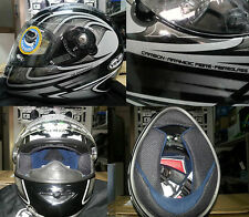 CASCO INTEGRALE IN FIBRA CARBON VEMAR VSS BOOMERANG 231