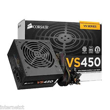 Corsair vs450 8pin (4+4) 450w 80+ 34 Amp PCI-E Alimentatore cp-9020096-uk