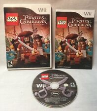 Lego Pirates Of The Caribbean Wii Game. Complete. Tested. Great Condition!