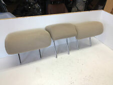 04-09 Toyota Prius Rear Middle Left Right Seat Headrest Head Rest Cloth TAN SET