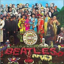 Vintage Style Metal Sign The Beatles Sgt. Peppers Retro Poster Garage Bar Studio