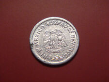 HIGH GRADE  1935 NEW MEXICO 1 MIL SCHOOL EMERGENCY TAX-5 CENTS PURCHASE TOKEN