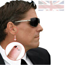 Nano Hidden Wireless Secret Spy Ear Earpiece for Mobile Phone With Mic Security