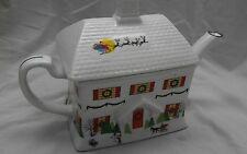 Lenox Sleighride house debut collection Christmas scene teapot