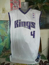 SACRAMENTO KINGS Chris Webber REEBOK Throwback Jersey XL